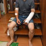 クマに襲われた男性「死ぬかと」=青森県弘前市五代従弟沢(いとこざわ)