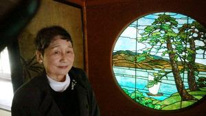 ステンドグラス史研究家 田辺千代さん(78)青森