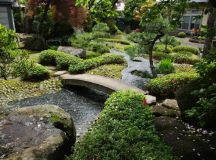 Japanese Garden and Kura Storage in Hirakawa-City   Aomori ...