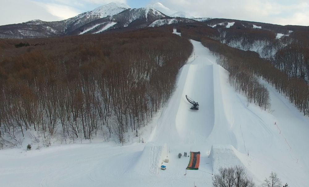 Global-Cutter-shaping-halfpipe-Aomori-Spring-Pro-Camp