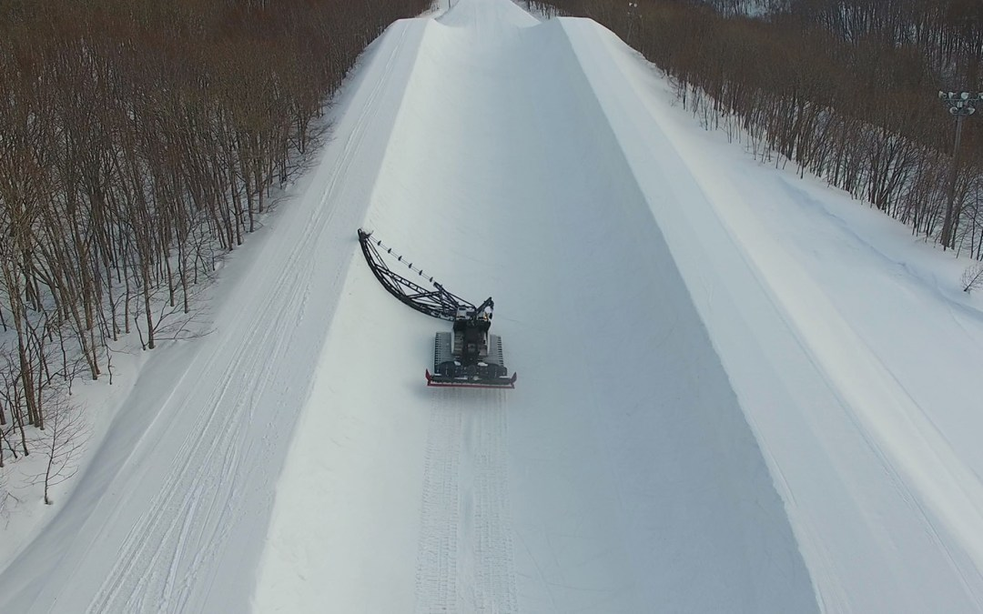 Behind the Scenes at Aomori Spring: Halfpipe Shaping