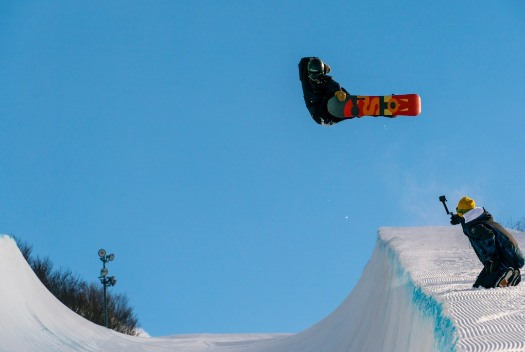 Kaishuu Hirano in 22ft halfpipe photo by Keith Stubbs