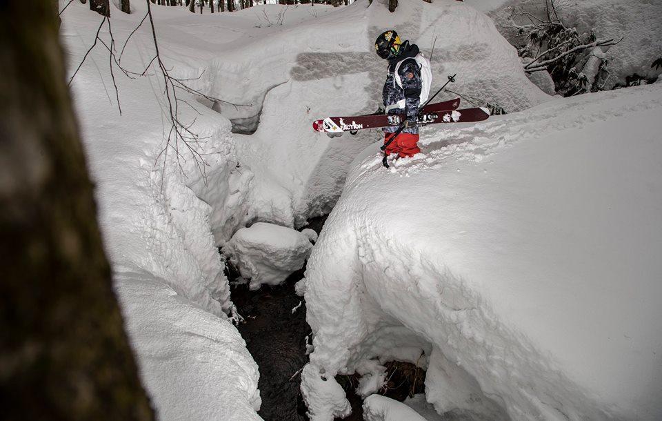 Henry Sildaru's Insane Ski Turns in Aomori