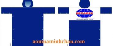 Áo mưa in logo Bình Dương