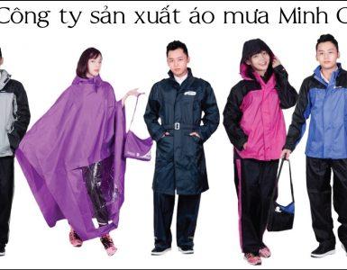 Sản xuất áo mưa xuất khẩu
