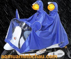 áo mưa đi xe máy 2 đầu