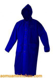 áo mưa bit hông xanh