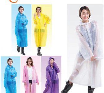 Các loại áo mưa