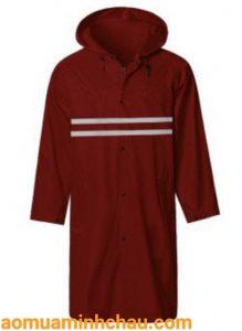 áo mưa liền thân phản quang