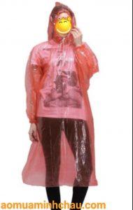 Áo mưa ni lông chữ A cứu trợ bão lũ miền trung