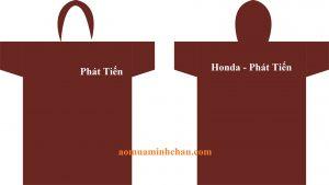 áo mưa in logo công ty tphcm