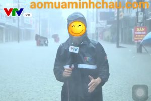 Áo mưa cứu trợ lũ lụt