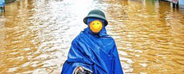 Áo mưa cứu trợ lũ lụt miền trung
