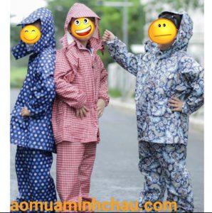 sản xuất áo mưa trẻ em