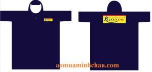 Áo mưa cánh dơi nhựa Rạng Đông in logo