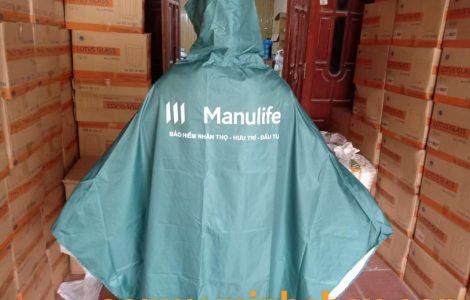 Cơ sở sản xuất áo mưa quảng cáo