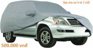 Bạt phủ ô tô vải dù
