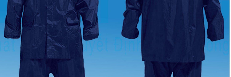 Xưởng sản xuất áo mưa vải dù in logo công ty