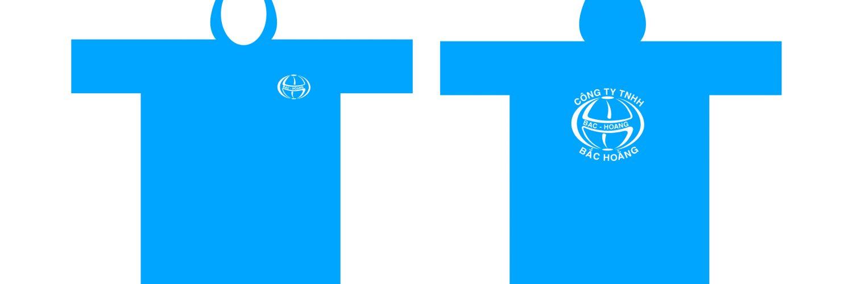 Áo mưa vải dù tổ ong in logo công ty