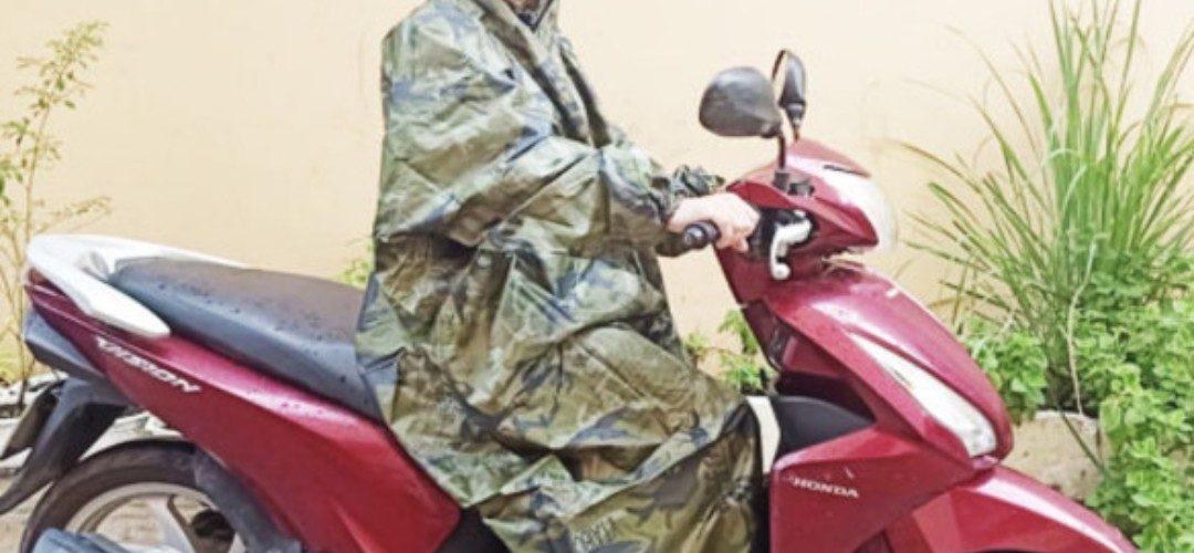 Áo mưa siêu nhẹ không thấm nước