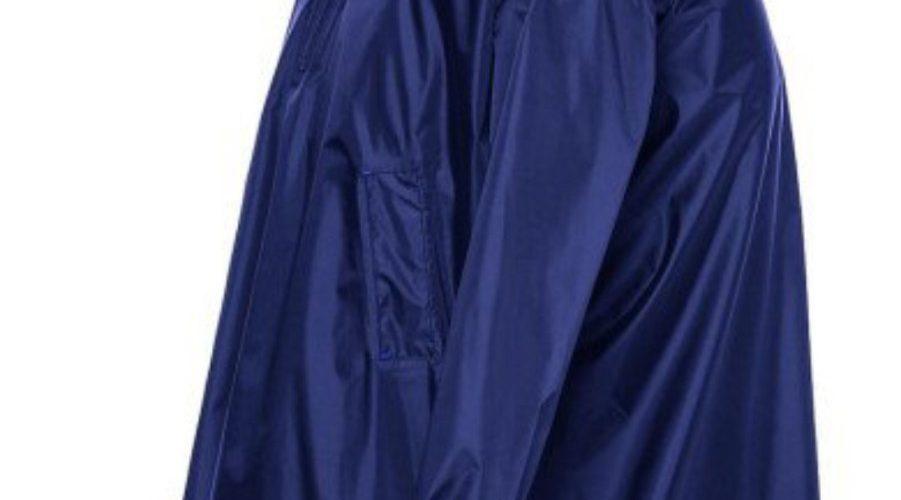 Áo mưa vải dù xanh đen