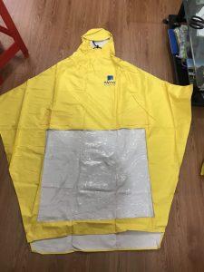áo mưa vải dù chữ a