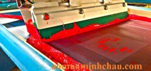 Xưởng sản xuất áo mưa vải dù