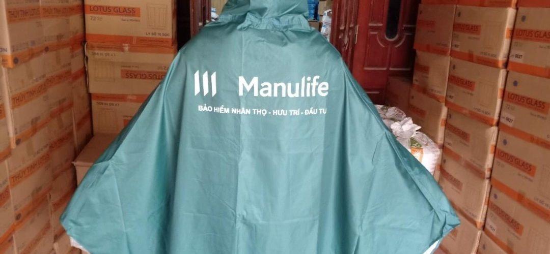 Xưởng sản xuất áo mưa vải dù TPHCM