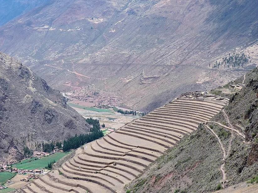 Cusco, Peru: Contruções Incas sobre as montanhas