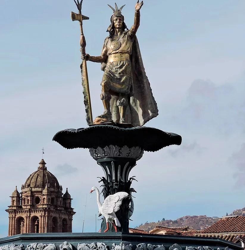 Cusco, Peru: O imperador Inca Pachacutec