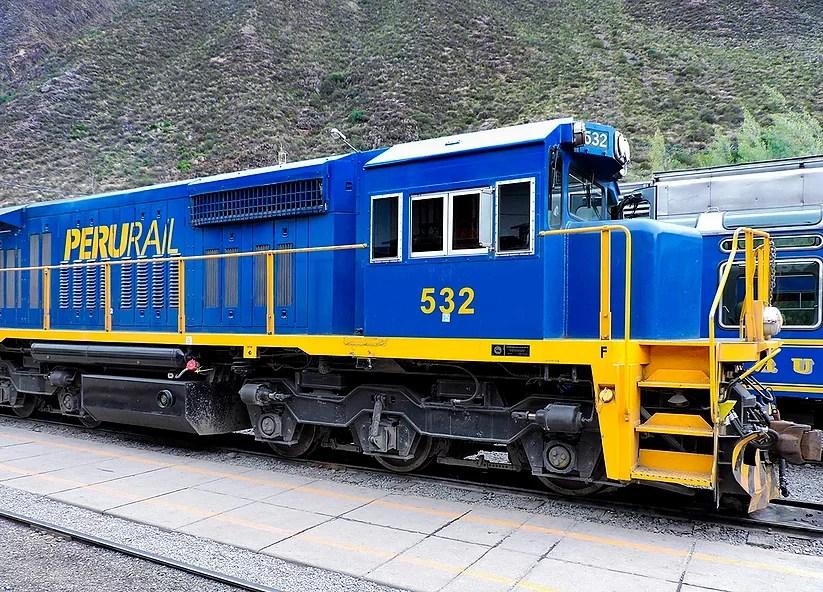 Ollantaytambo, Peru: O nosso trem para Águas Calientes