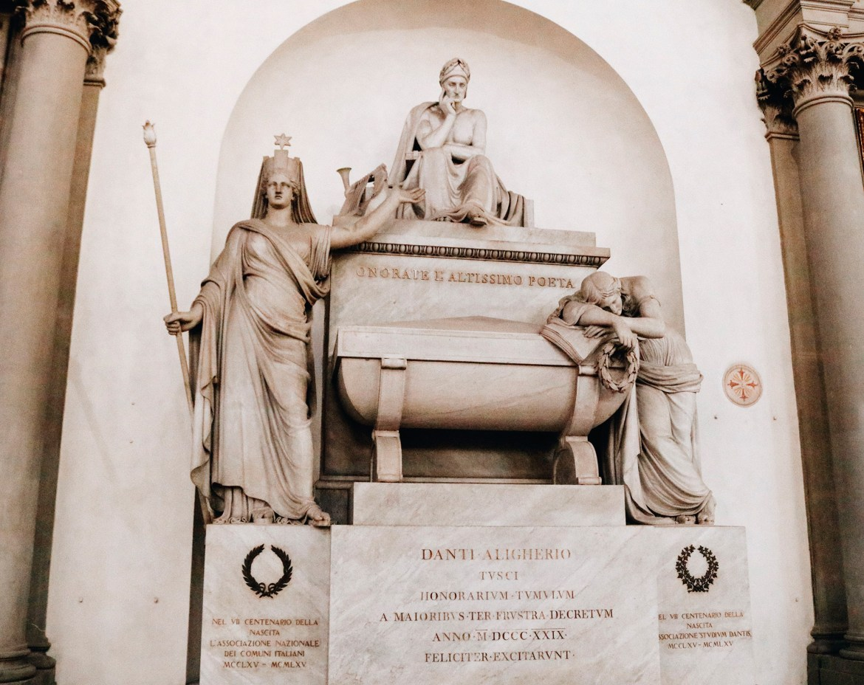 Monumento Dante Santa Croce