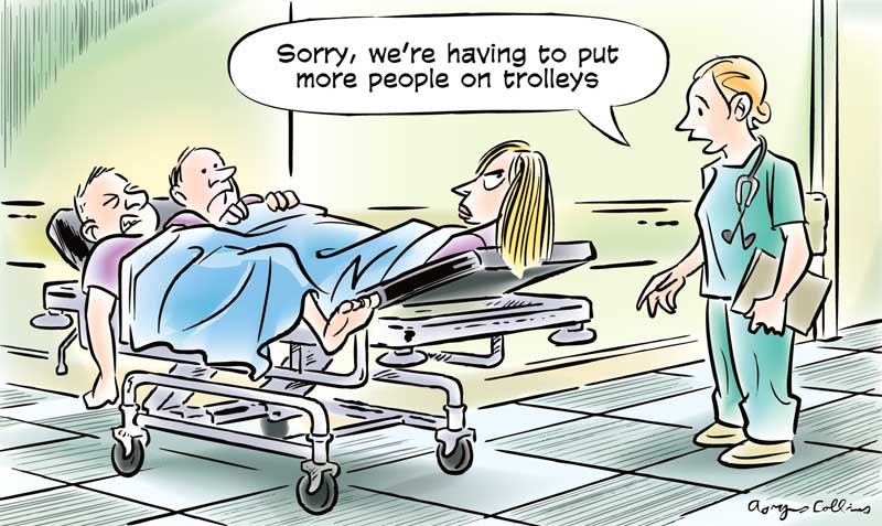 Image result for trolley health hospital cartoon