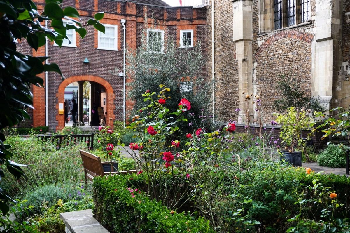 Hidden garden in London