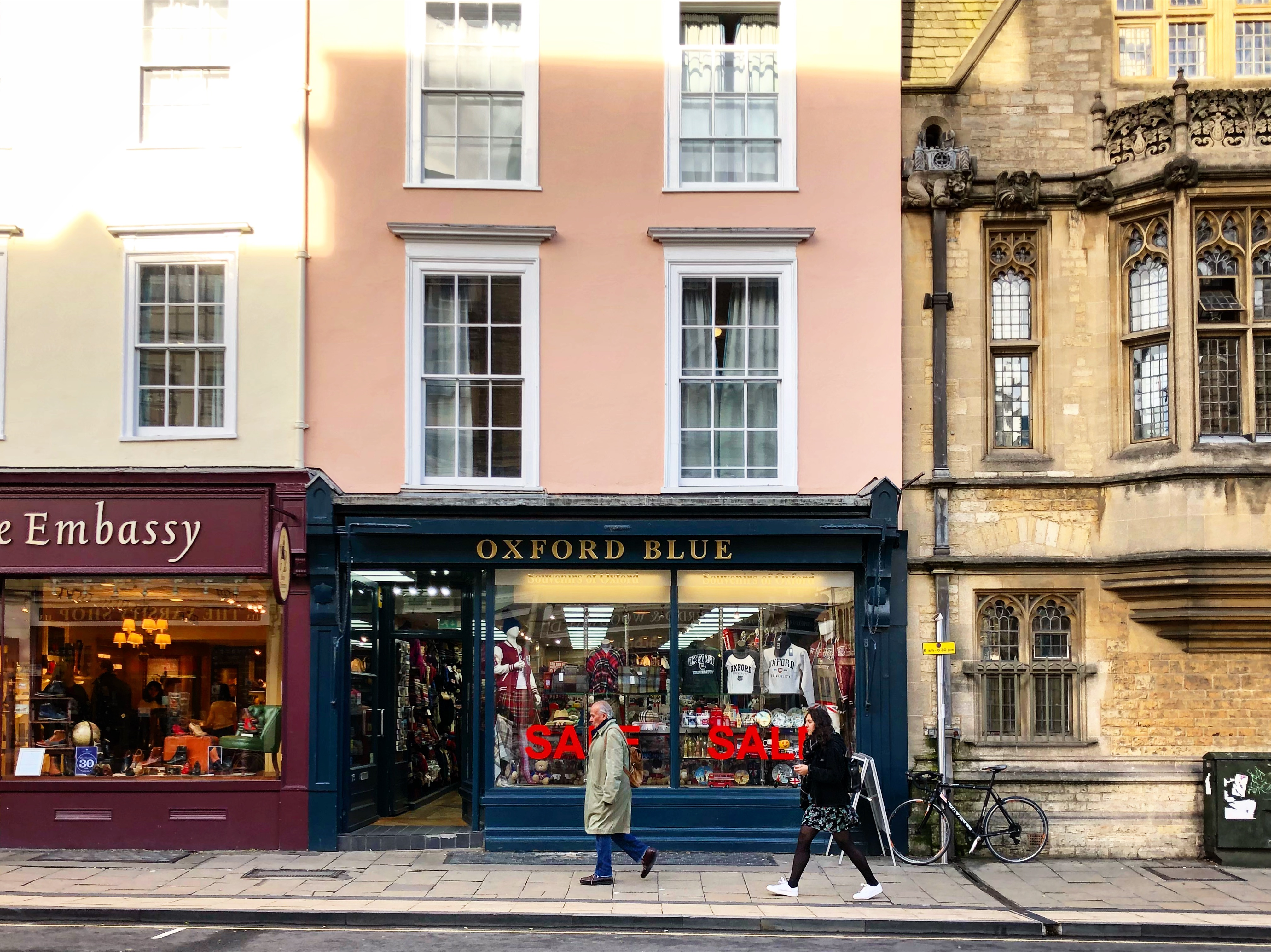 The most beautiful streets of Oxford