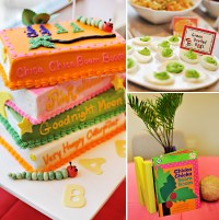 book themed baby shower cakes
