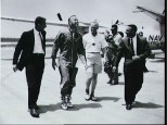 Picture from left to right: Donald 'Deke' Slayton, Alan Shepard, John Glen and Virgil I. Grissom.
