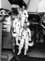 Apollo 1 crew during training.