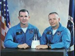 Official Gemini 8 NASA portrait.