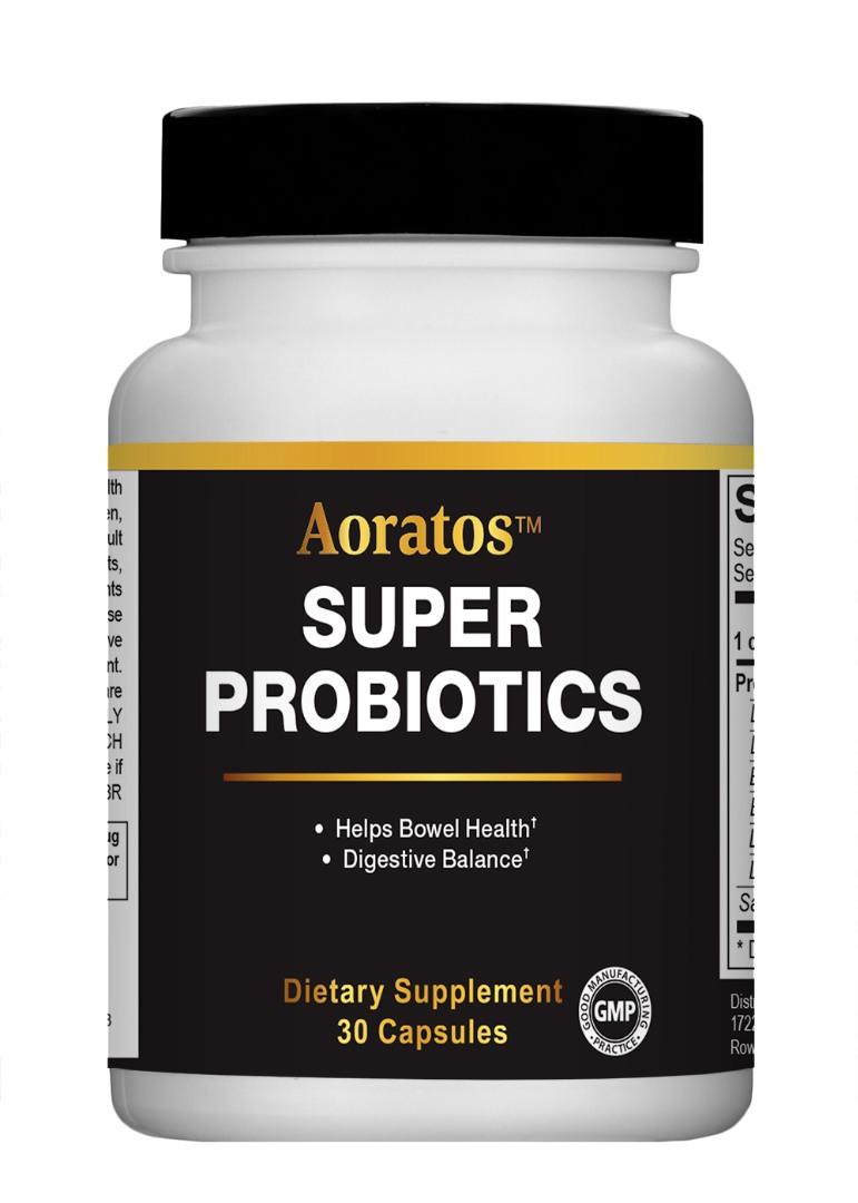 Super ProBiotics 30 Capsules – Aoratosnature.com