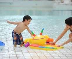 赤ちゃん 水遊び おむつ