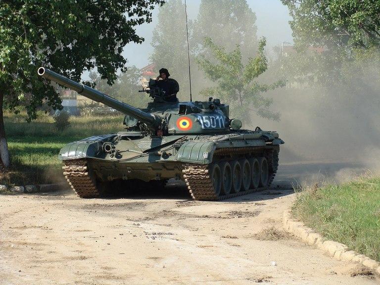 T-72M, important în număr mic din URSS la începutul anului 1980. Foto: Marian Rădulescu / wikipedia