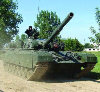 TR-125 (P-125), prototip bazat pe tancul rusesc T-72, produs în serie mică la finalul anilor `80, care îngloba numeroase echipamente moderne. Foto: wikipedia