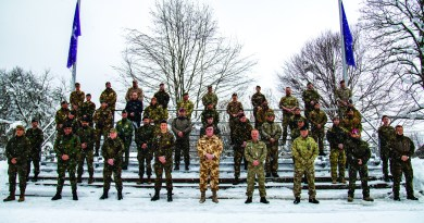 AORR Resumes its support for NATO School Oberammergau after one year of pause due to Covid-19 prevention measures