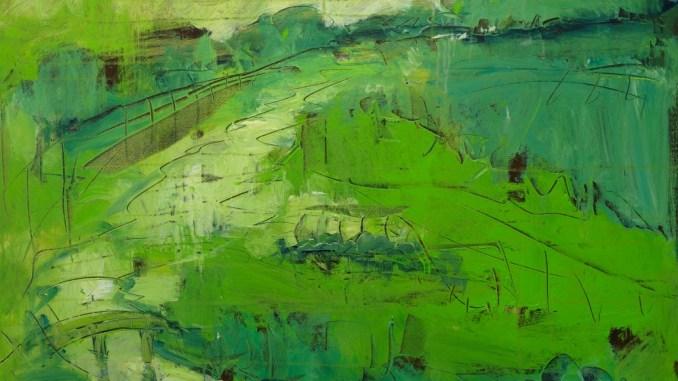 Roland Oberholzner, April 100 x 100 cm, Acryl auf Leinwand   Art On Screen - [AOS] Magazine NEWS