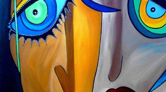 Anna Hausmann, Color Face 2, Art On Screen [AOS] Magazine