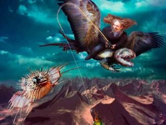 Der Drachenflieger by Dagmar R. Ritter, Digital Art, Art On Screen [AOS] Magazine