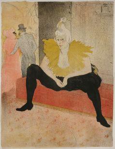Die sitzende Clownesse – Mademoiselle Cha-U-Ka-O, 1896. Aus der Serie Elles – Sie Statens Museum for Kunst, Kopenhagen © SMK Photo