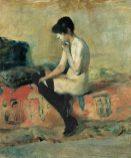 Henri de Toulouse-Lautrec, Aktstudie, 188283 © Musée Toulouse-Lautrec, Albi