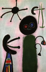 Joan Miró Malerei (Jack in the Box), 1953 Sammlung Nahmad © Successió Miró 2014-Bildrecht, Wien, 2014